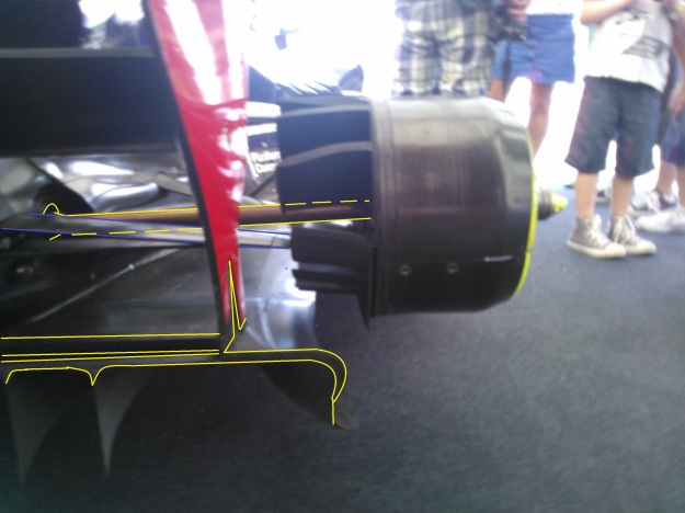 Red bull diffuser