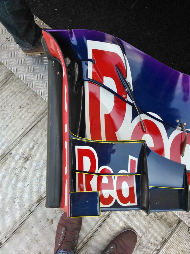 Red Bull front wing 3