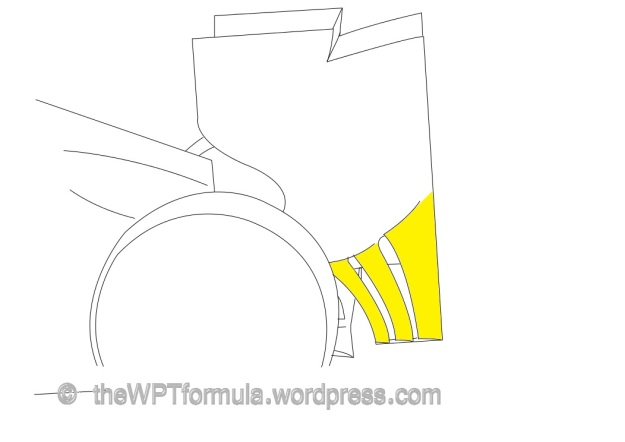 Mclaren rear wing endplate