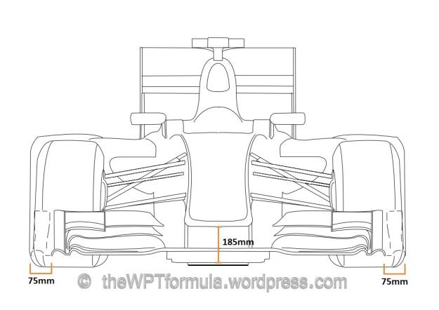 front wing comparison