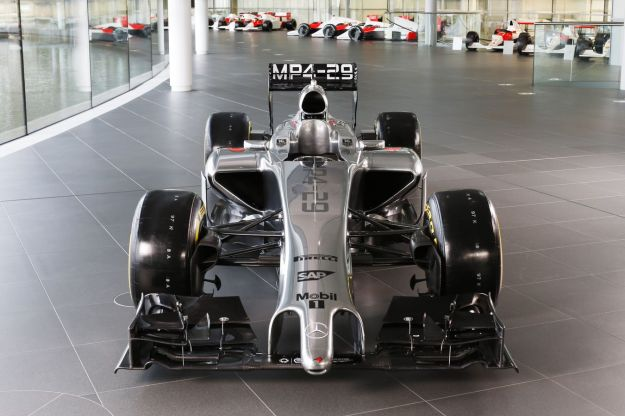 mp4-29 launch