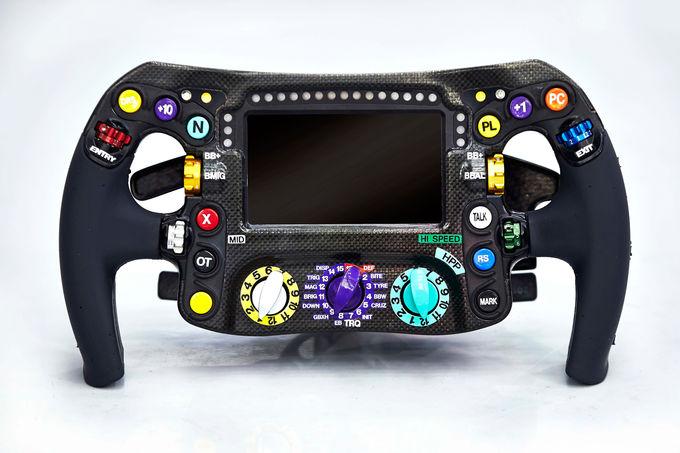The Red Bull Steering Wheel Formula1