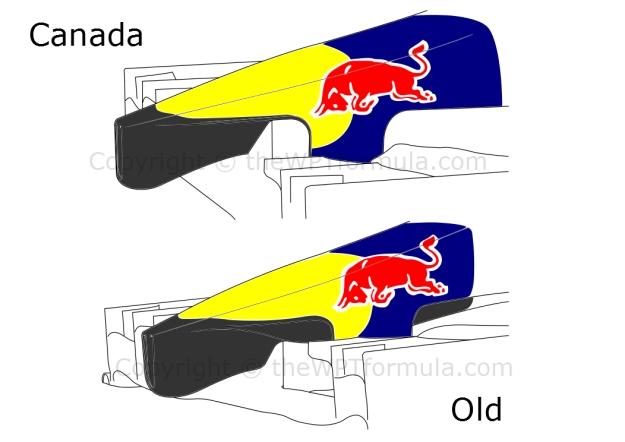 RB10 nose comparison