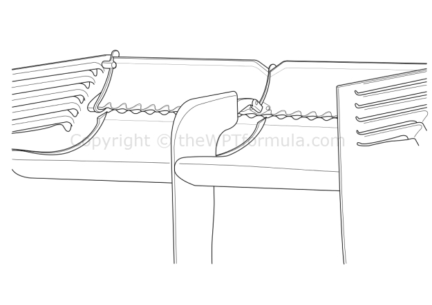 McLaren tubercles wing