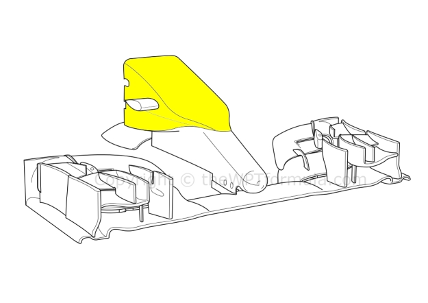 Caterham nose Spa