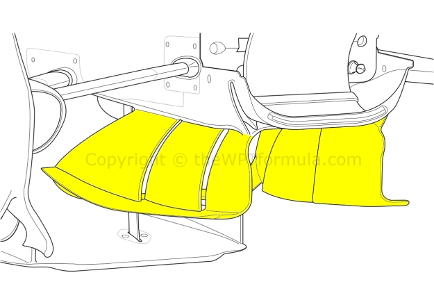 RB11 chassis vanes