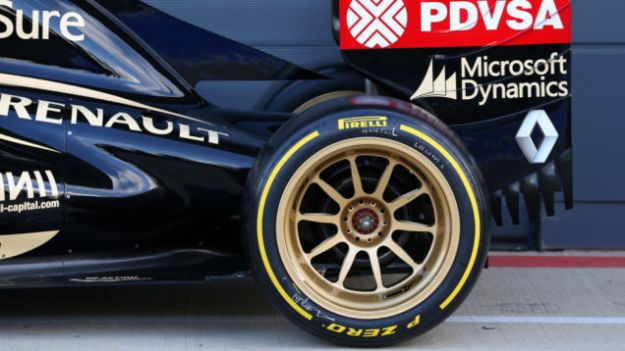 The current size brakes in F1 would have little effect on tyre warm up, should 18 inch wheels be introduced